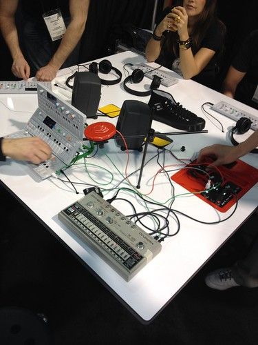 NAMM 2012 - Teenage Engineering Adds Sensors You Can Wear