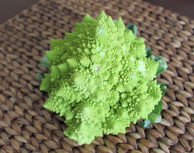 Curry Roasted Broccoflower