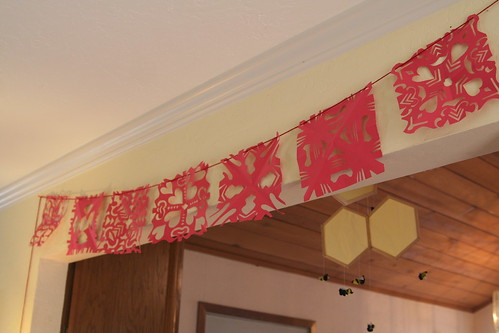 Red Paper Banner