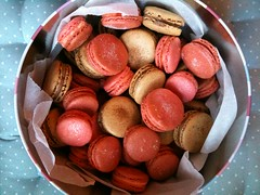 chocolate truffle(0.0), produce(0.0), sweetness(1.0), food(1.0), macaroon(1.0), dessert(1.0),