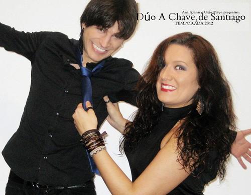 Dúo A Chave 2012 - cartel
