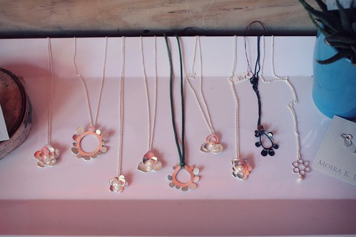 assortment of necklaces