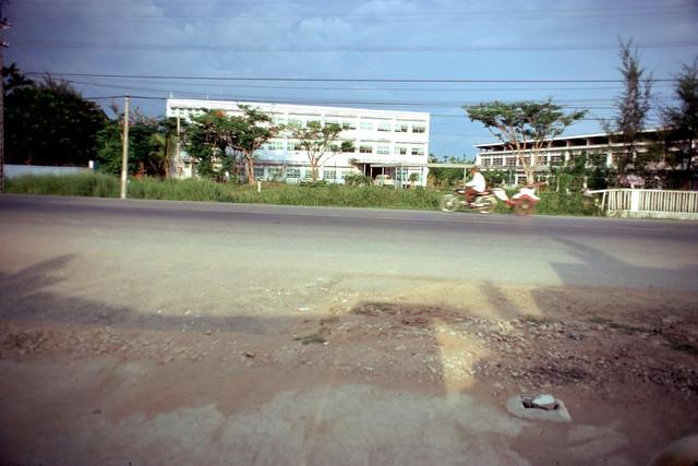 Vinh Long 1972 - Khu vực trường Sư phạm và trường Trung học Kỹ Thuật Vĩnh Long