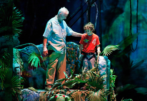 Iceploration Grandpa and Austin in the Rainforest