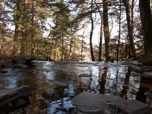 Stream coming out of Pecoy Notch