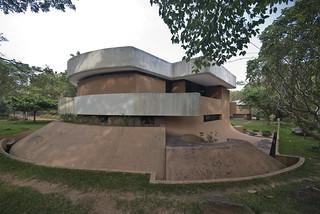 Auroville - House of Roger Anger - Auromodele by Roger Anger