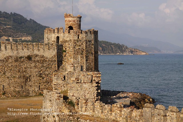 Anamur, Mamure castle, tower