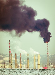 [Free Images] Architecture, Factory, Smoke ID:201202121600