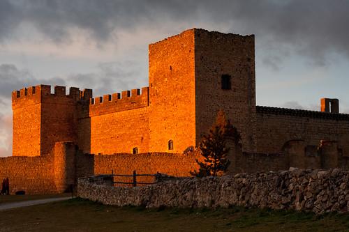 Castillo en naranja