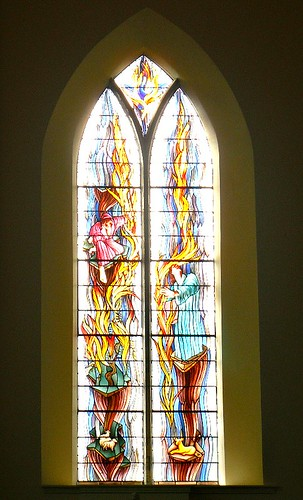 Old Kirk, Kirkcaldy Modern Stained Glass 1