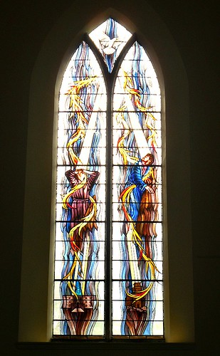 Old Kirk, Kirkcaldy Modern Stained Glass 2