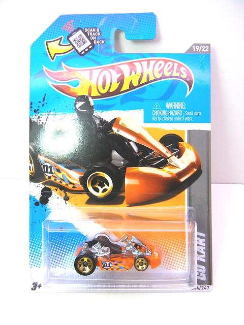 hot wheels go kart orange 2 flickr photo sharing. Black Bedroom Furniture Sets. Home Design Ideas