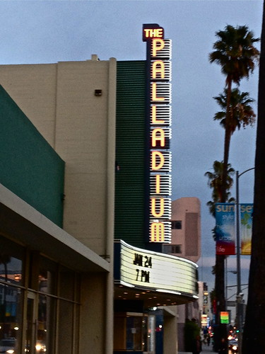 Hollywood Palladium marquee