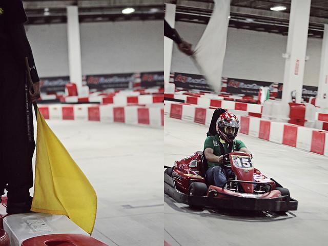 work go-karts 19 diptych
