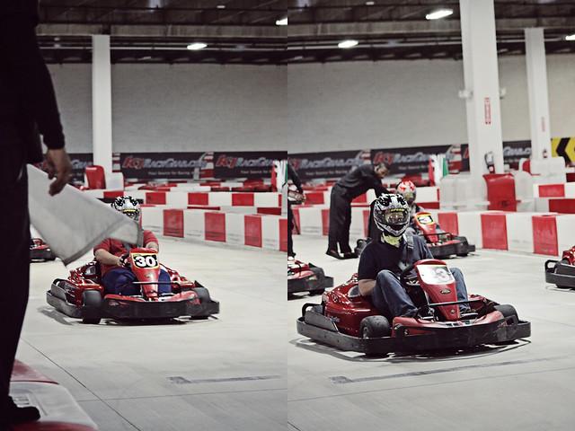 work go-karts 22 diptych