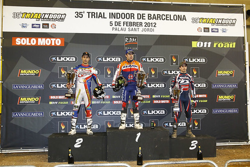 Podium Trial Indoor Barcelona