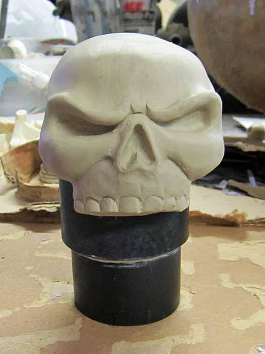 Chainsword Pommel Sculpt
