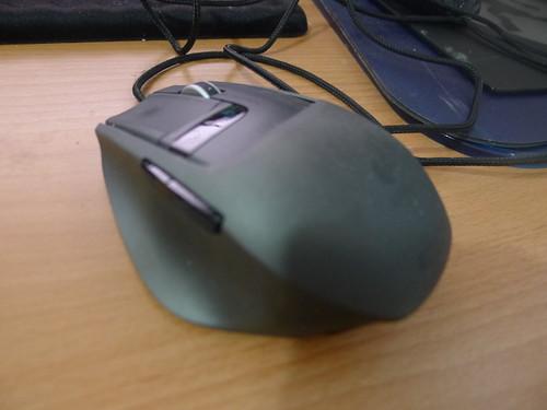 原來使用的羅技 G9x 頂級滑鼠