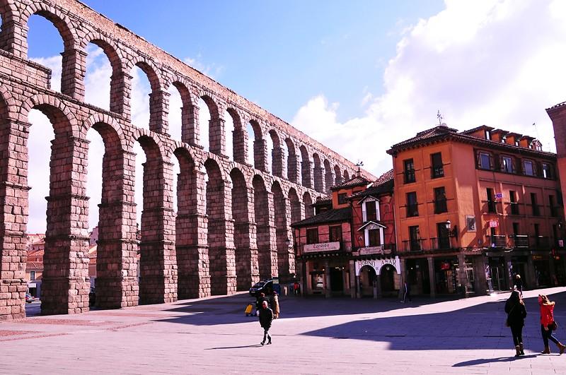 Roman Aqua Duct, Segovia, Spain