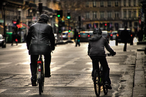 Por una calle de París by chucafox