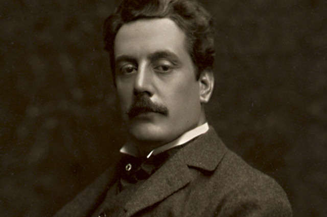 Giacomo Puccini in 1907 By Studio Bertieri
