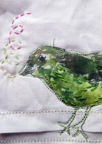 Poke Salad Annie quilt in progress