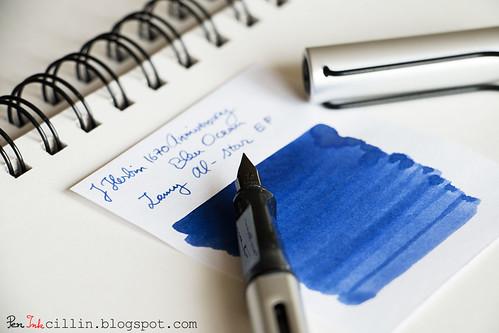 J Herbin 1670 Anniversary Bleu Ocean swatch