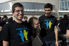 Medical Student Match Day for the Class of 2014, Boonshoft School of Medicine, Dayton, Ohio