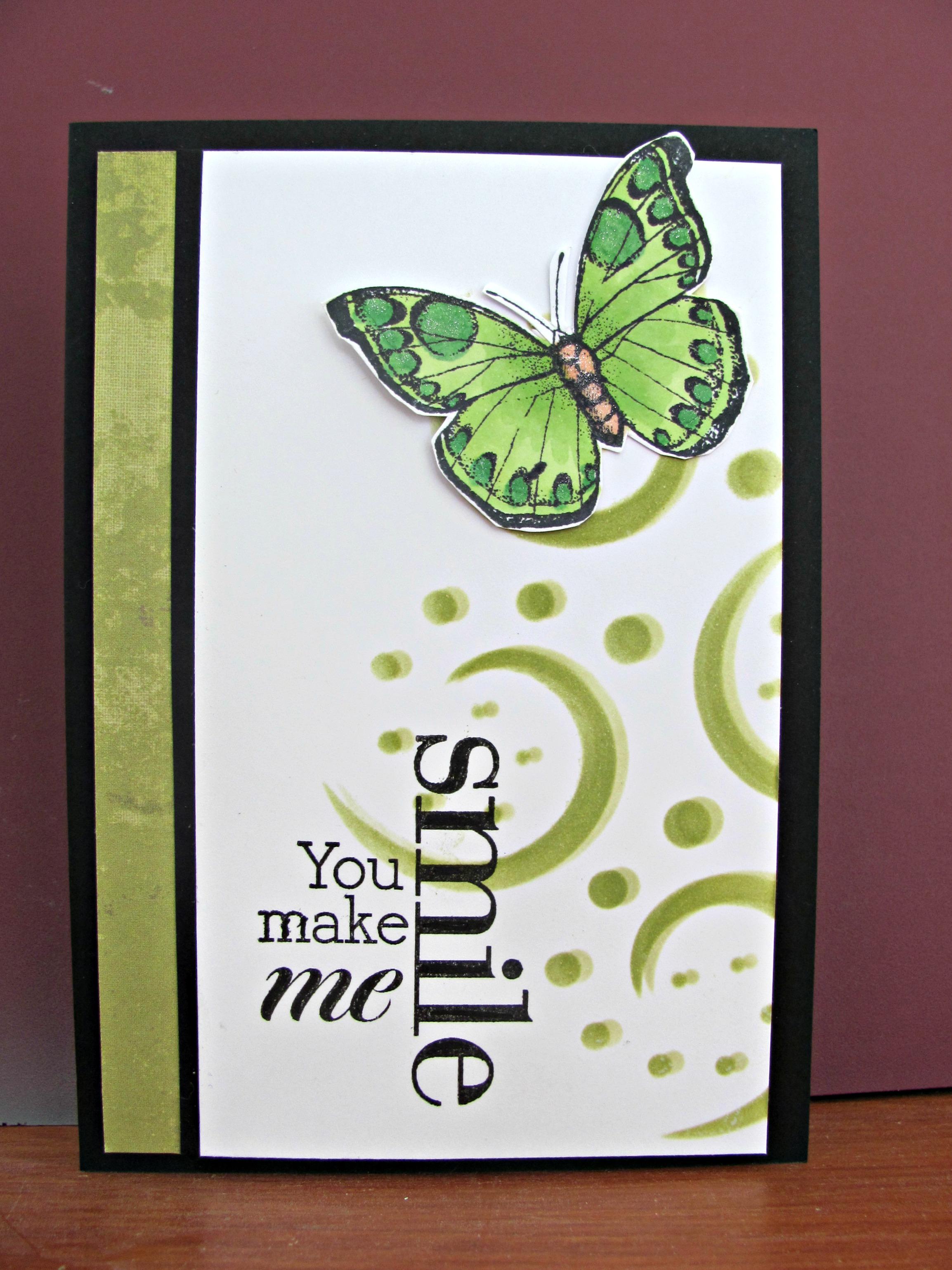 You make me smile.