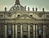 #2popesaints - Santi - Roma - Piazza s.Pietro - Preparativi