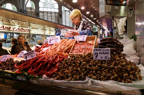 Valencia - Mercat Central - seafood