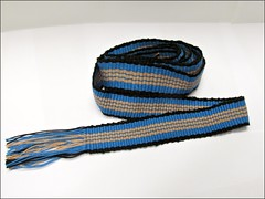Striped Inkle Strap