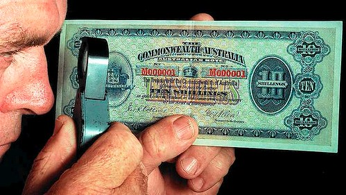 Australia 1913 10-shilling note