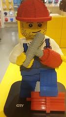 Giant LEGO Minifigure