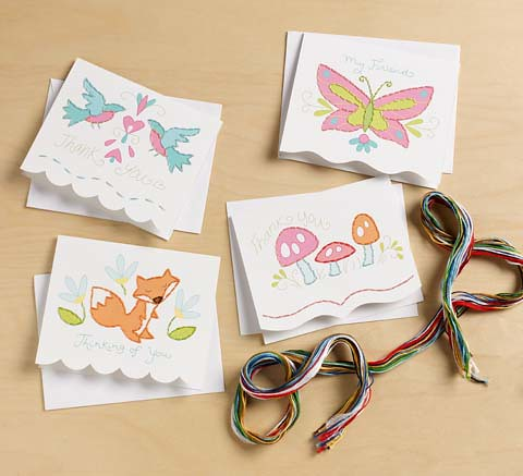 Paper Stitching card kit