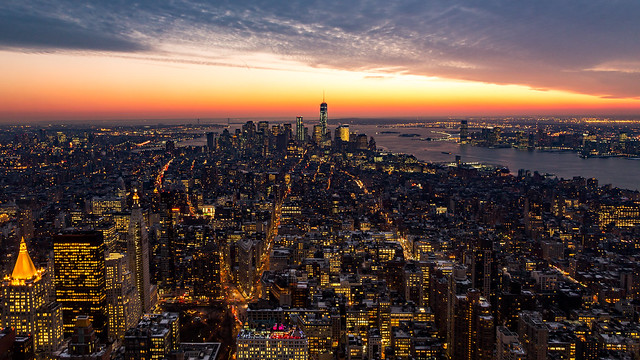 "Manhattan ""Golden Hour"""