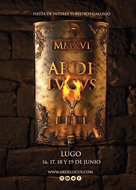 Lugo 2016 - Arde Lucus - cartel