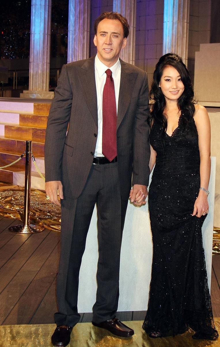 Николас Кейдж и третья жена Элис