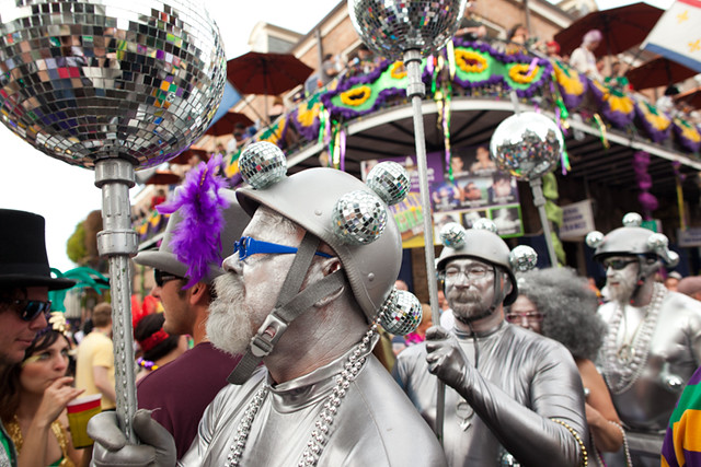 Mardi Gras Fat Tuesday 2012