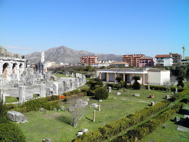 The Roman Amphitheatre and the Gladiator Museum, Capua