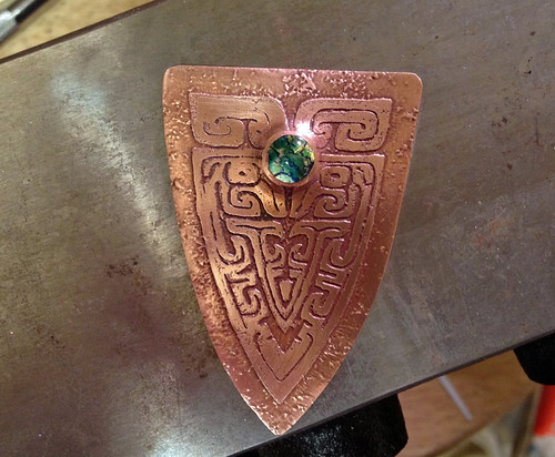 etched pendant -work in progress