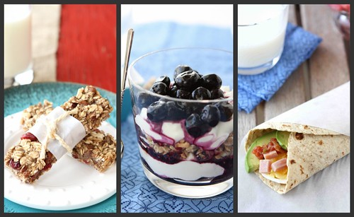 Healthy Breakfast Collage 1