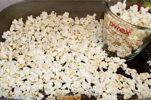 popcorn with maple syrup & salt 9