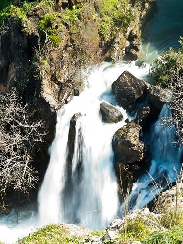 israel waterfall golan mideast isr naturelandscape enziwan