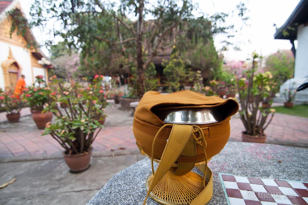 Monk alms bowl