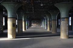Pillars, Colours, Graffiti