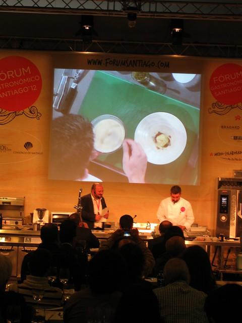Fórum gastronómico 2012. Manuel Gago e Xoán Manuel Crujeiras