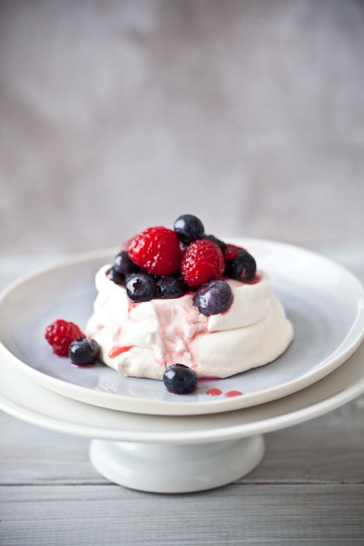 Meringue, Creme Fraiche & Berries