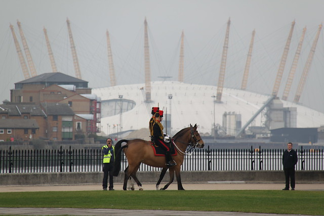 King's Troop in the ORNC with the O2 behind