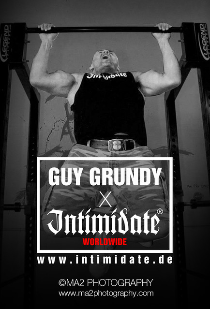 Intimidate Streetwear X Guy Grundy